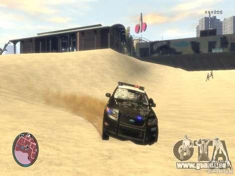 Ford Taurus Police für GTA 4 Unteransicht