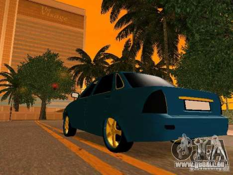 LADA 2170 Priora Gold Edition pour GTA San Andreas moteur