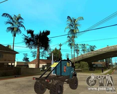 ZIL 4421-RALLYE für GTA San Andreas zurück linke Ansicht