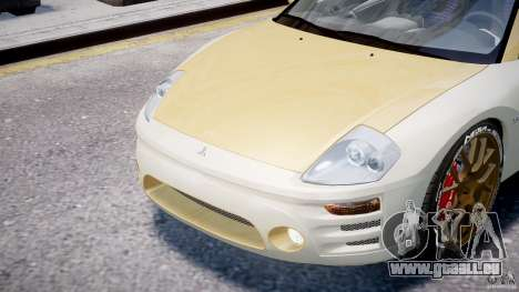 Mitsubishi Eclipse GTS Coupe für GTA 4 Seitenansicht