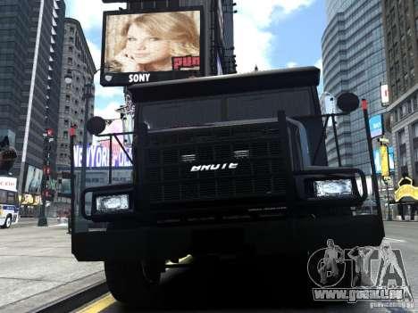 SWAT - NYPD Enforcer V1.1 pour GTA 4 est une vue de l'intérieur