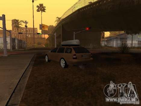 Skoda Octavia für GTA San Andreas rechten Ansicht
