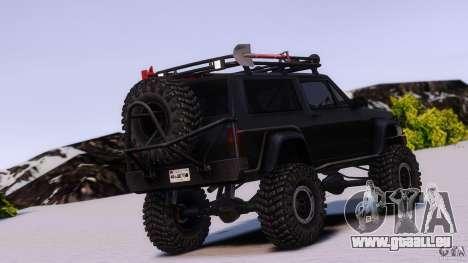 Jeep Cheeroke SE v1.1 pour GTA 4 est une gauche