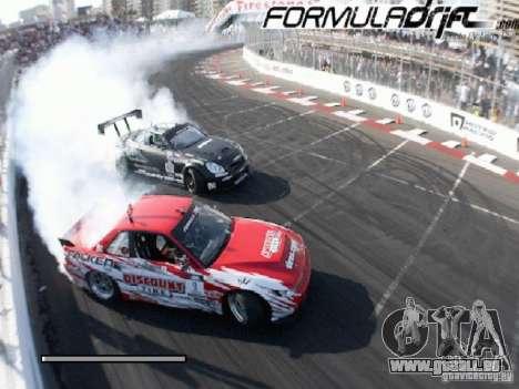 Écrans de chargement Formula Drift pour GTA San Andreas sixième écran