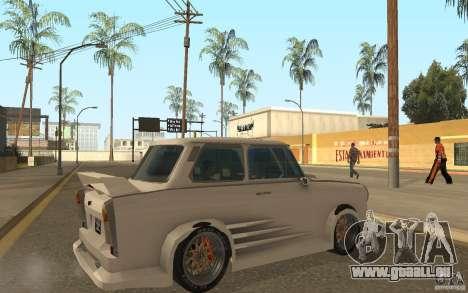 Trabant 601S Tuning für GTA San Andreas rechten Ansicht