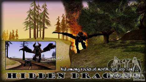 Hidden Dragon pour GTA San Andreas