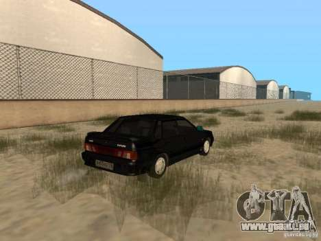 VAZ 2115 Tun lumière v. 1.1 pour GTA San Andreas