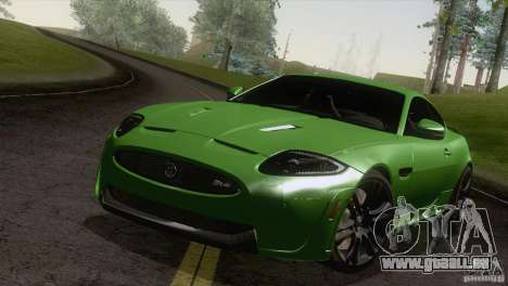 Jaguar XKR-S 2011 V1.0 pour GTA San Andreas vue de droite