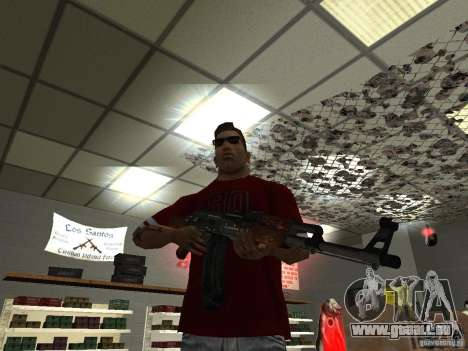 AK-47 HD für GTA San Andreas