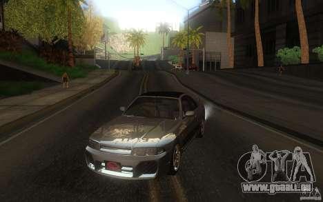 Nissan Skyline R33 GTS25t Stock pour GTA San Andreas vue arrière