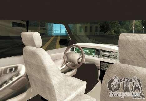 Toyota Crown S130 pour GTA San Andreas vue de droite