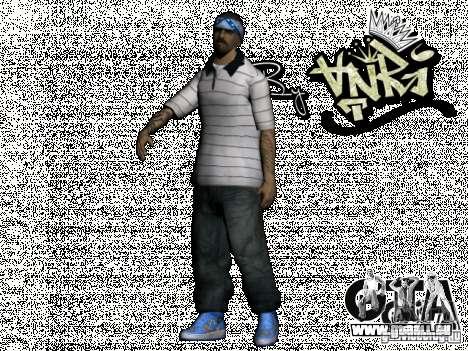 Gagns skinpack by AnRi pour GTA San Andreas huitième écran