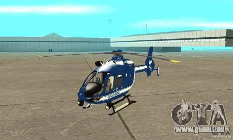 EC-135 Gendarmerie für GTA San Andreas linke Ansicht