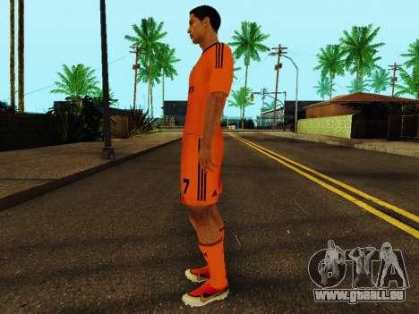 Cristiano Ronaldo v3 pour GTA San Andreas troisième écran