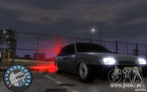 VAZ 2109 Dagestan tuning für GTA 4 hinten links Ansicht