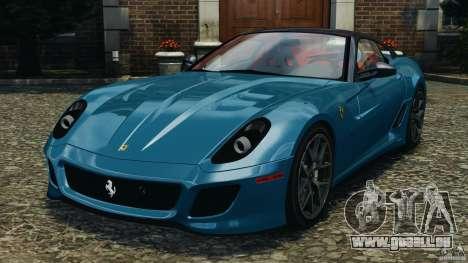 Ferrari 599 GTO 2011 pour GTA 4