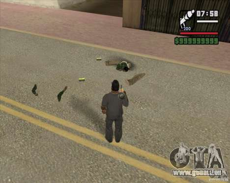 Real Ragdoll Mod Update 2011.09.15 für GTA San Andreas dritten Screenshot