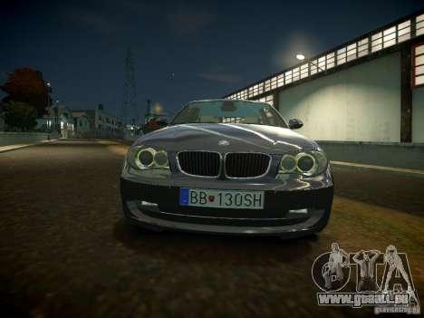 BMW 120i pour GTA 4 est une gauche