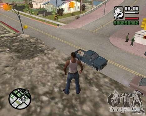 GTA 4 Anims for SAMP v2.0 pour GTA San Andreas septième écran