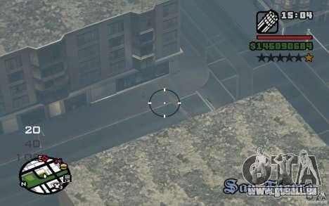 AC-130 Spectre pour GTA San Andreas vue de droite