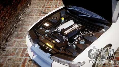 Nissan Silvia S14 [EPM] pour GTA 4 est une vue de l'intérieur