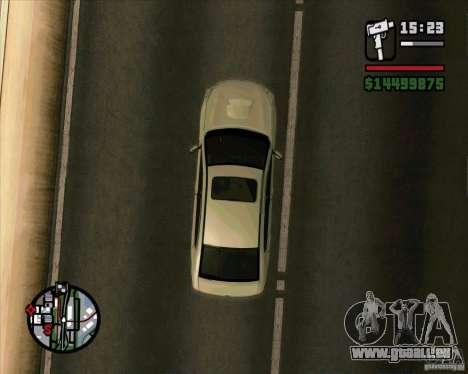 Subaru Legacy 2010 v.2 pour GTA San Andreas vue de droite