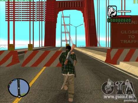 Takomskij Bridge (pont de Tacoma Narrows) pour GTA San Andreas deuxième écran