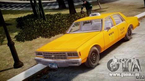 Chevrolet Impala Taxi v2.0 pour GTA 4