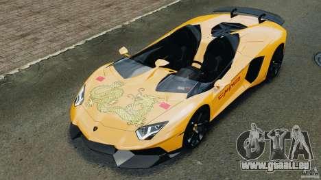 Lamborghini Aventador J 2012 v1.2 für GTA 4