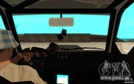 GTA IV Sultan RS FINAL für GTA San Andreas Rückansicht