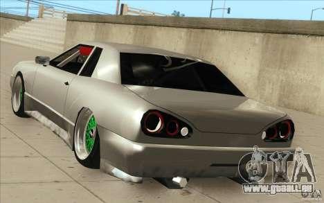 New elegy pour GTA San Andreas vue de dessus