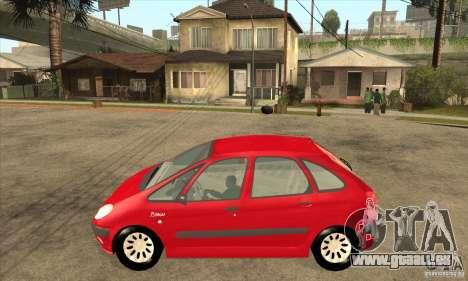 Citroen Xsara Picasso pour GTA San Andreas laissé vue