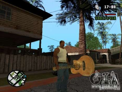 Guitare pour GTA San Andreas