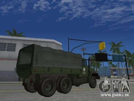 AM General M35A2 pour GTA San Andreas vue de côté