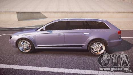 Audi A6 Allroad Quattro 2007 wheel 1 pour GTA 4 est une gauche