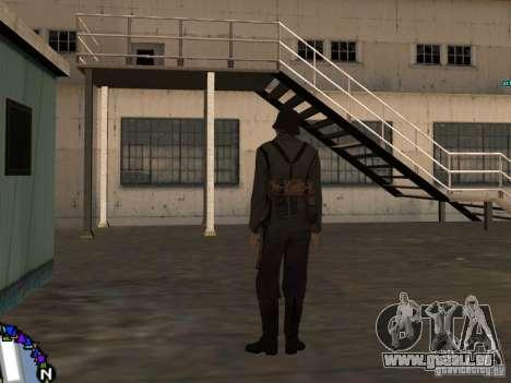 Unteroficer de la Wehrmacht pour GTA San Andreas troisième écran