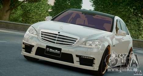 Mercedes-Benz S Class W221 Black Bison 2009 pour GTA 4