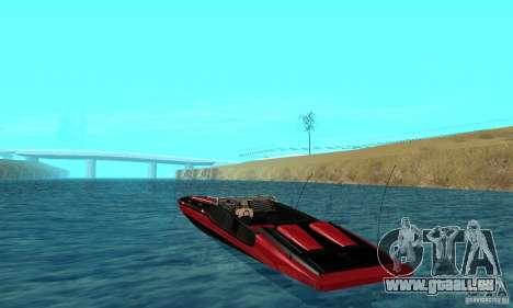 GTAIV TBOGT Smuggler pour GTA San Andreas sur la vue arrière gauche
