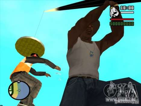 Pêche pour GTA San Andreas quatrième écran