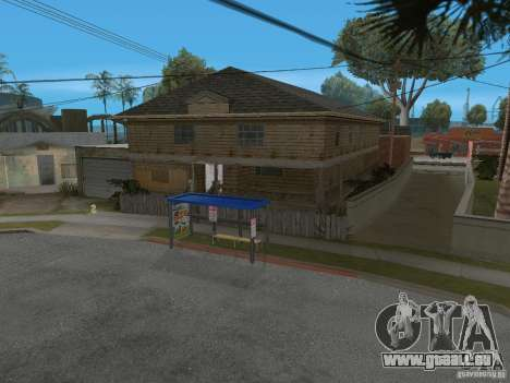 Nouveau Groove Street pour GTA San Andreas septième écran