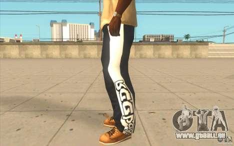Reebok Sporthose für GTA San Andreas zweiten Screenshot