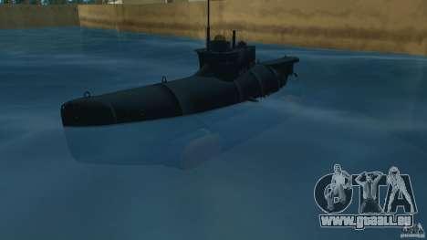 Seehund Midget Submarine skin 2 pour GTA Vice City