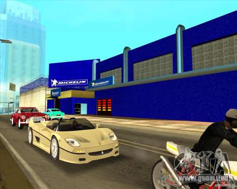 Garage Michelin für GTA San Andreas dritten Screenshot