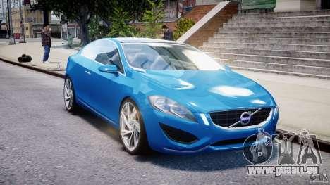 Volvo S60 Concept für GTA 4 Rückansicht