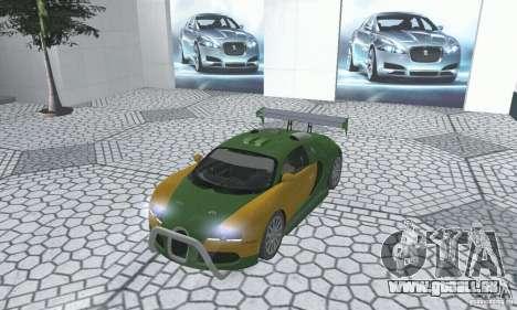 Bugatti Veyron 2005 pour GTA San Andreas