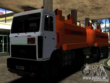 MAZ 533702 LKW für GTA San Andreas