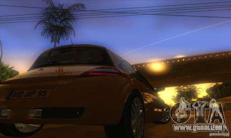 Renault Megane RS II V1.0 pour GTA San Andreas vue arrière