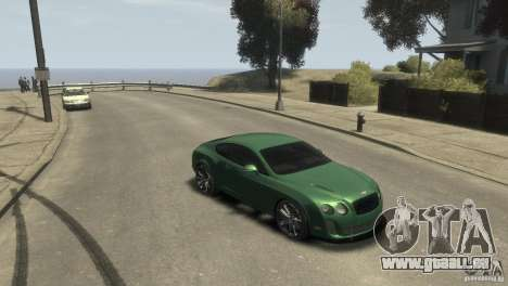 Bentley Continental SS für GTA 4 hinten links Ansicht