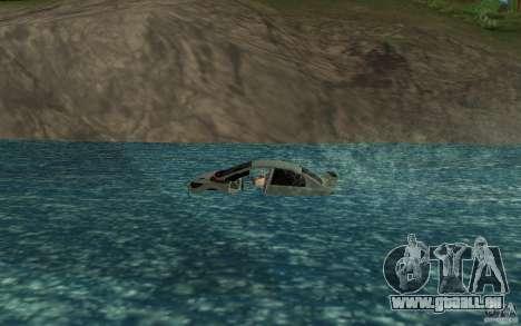 Honda Civic Mugen RR Boat pour GTA San Andreas laissé vue