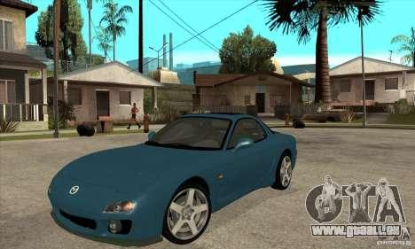 Mazda RX-7 - Stock für GTA San Andreas